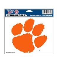 "Clemson Ultra Decal 5"" X 6"""