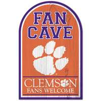 Clemson Tigers Wood Sign