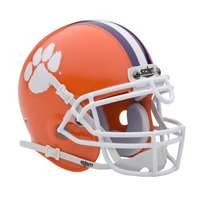 Clemson Tigers Mini Helmet by Schutt - Orange