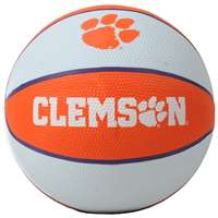 Clemson Tigers Mini Rubber Basketball