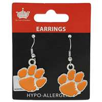 Clemson Tigers Dangler Earrings