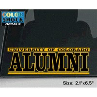 Colorado Buffaloes Buffaloes Decal - University Of Colorado Buffaloes Over Alumni