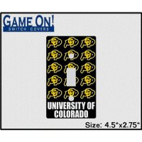 Colorado Buffaloes Buffaloes Game On Light Switch Cover