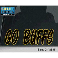 Colorado Buffaloes Buffaloes Decal - Go Buffs