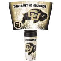 Colorado Buffaloes 16oz Plastic Travel Mug