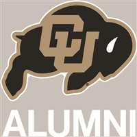 Colorado Buffaloes Transfer Decal - Alumni
