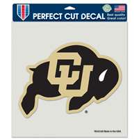 "Colorado Buffaloes Full Color Die Cut Decal - 8"" X 8"""