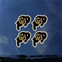 Colorado Buffaloes Transfer Decals - Set of 4