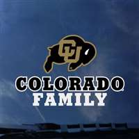 Colorado Buffaloes Transfer Decal - Family