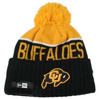 Colorado Buffaloes New Era Sport Knit Pom Beanie