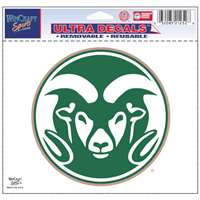 "Colorado State Rams Ultra Decal 5"" x 6"""
