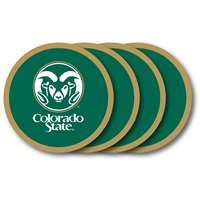 Colorado State Rams Coaster Set - 4 Pack