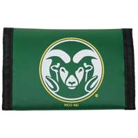 Colorado State Rams Nylon Tri-Fold Wallet