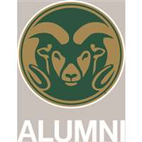 Colorado State Rams Transfer Decal - Alumni