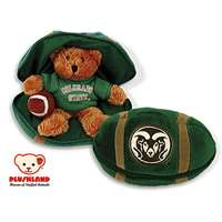 Colorado State Rams Stuffed Bear in a Ball - Football