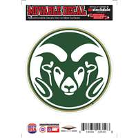 Colorado State Rams Repositionable Vinyl Decal