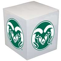 Colorado State Rams Sticky Note Memo Cube - 550 Sheets