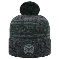 Colorado State Rams Top of the World Sock It 2 Me Knit Beanie