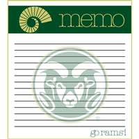 This 2 pack of memo pads features a team logo with a team color header that says Memo on each page. The body of the pad has lines and has a team logo in the background. Each pad contains 50 pages. (2 pack of 50each). Measures 4.5 inches wide by 5 inches t