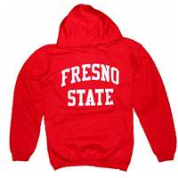 Fresno State Hooded Sweatshirt, Red