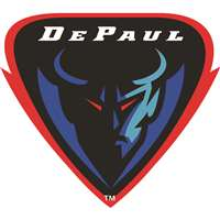 DePaul Blue Demons Die-Cut Transfer Decal