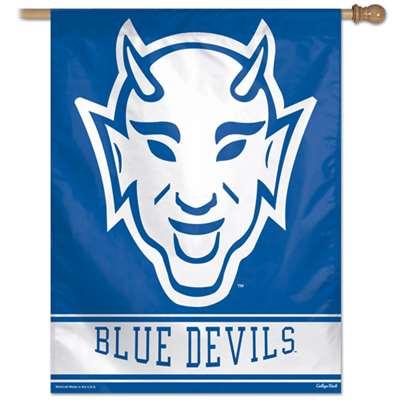 Duke Blue Devils Banner Vertical Flag 27 Quot X 37 Quot Retro Logo
