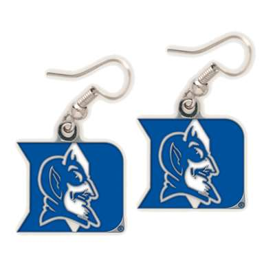 Duke Blue Devils Logo Earrings