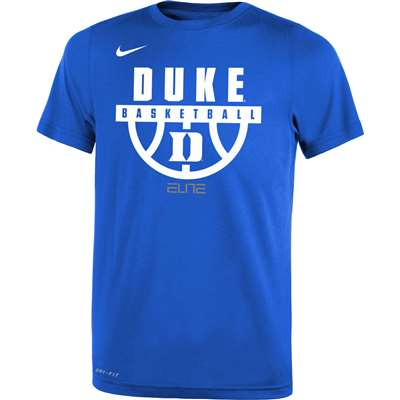 e01df51d Nike Duke Blue Devils Youth Basketball Legend T-Shirt