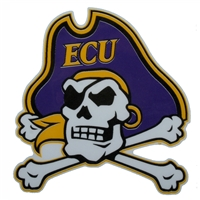 East Carolina Pirates Die-Cut Transfer Decal