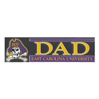 East Carolina Pirates Die Cut Decal Strip - Dad