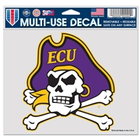 "East Carolina Pirates Ultra Decal 5"" x 6"""