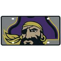 East Carolina Pirates Full Color Mega Inlay License Plate