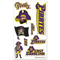East Carolina Pirates Temporary Tattoos