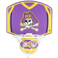 East Carolina Pirates Mini Basketball And Hoop Set