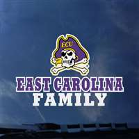 East Carolina Pirates Transfer Decal - Family