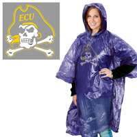 East Carolina Pirates Rain Poncho