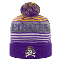 East Carolina Pirates Top of the World Overt Cuff Knit Beanie