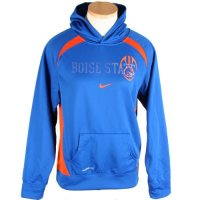 Nike Boise State Broncos Youth Therma-fit Football Performance Hood