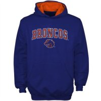 Boise State Broncos Youth Automatic Pull Over Fleece Hooded Sweatshirt