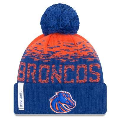 Boise State Broncos New Era Flect Sport Knit Beanie 3e3873578af