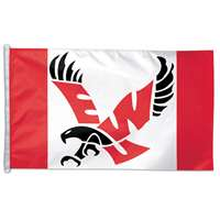 Eastern Washington Eagles Flag By Wincraft 3' X 5'