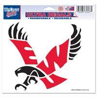 "Eastern Washington Eagles Ultra Decals 5"" X 6"""