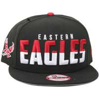 Eastern Washington Eagles New Era 9Fifty Dividing Line Snap Back Hat
