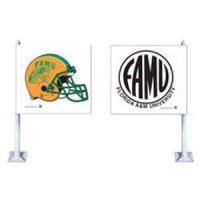 Florida A & M Car Flag
