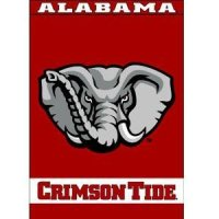 "Alabama Home Banner 40"" X 28"" Appliqued & Embroidered"