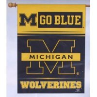 Michigan Banner/vertical Flag 27