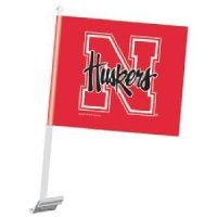 Nebraska Car Flag