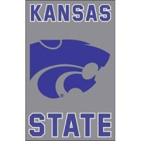 "Kansas State 2-sided Applique 44"" X 28"" Banner"