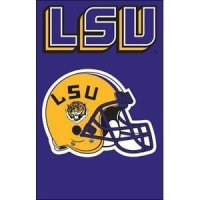 "Lsu 2-sided Applique 44"" X 28"" Banner"