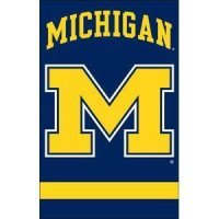 "Michigan 2-sided Applique 44"" X 28"" Banner"